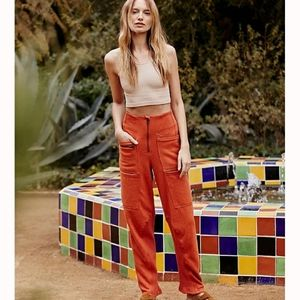 Free People- High Rise Sweat Pant